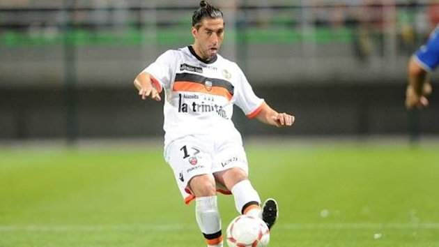 Lucas Mareque of Lorient