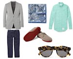 beach wedding mr porter outfit