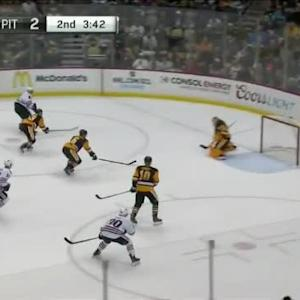 Marc-Andre Fleury Save on Marian Hossa (16:19/2nd)