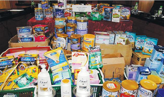 Baby formula theft syndicate busted