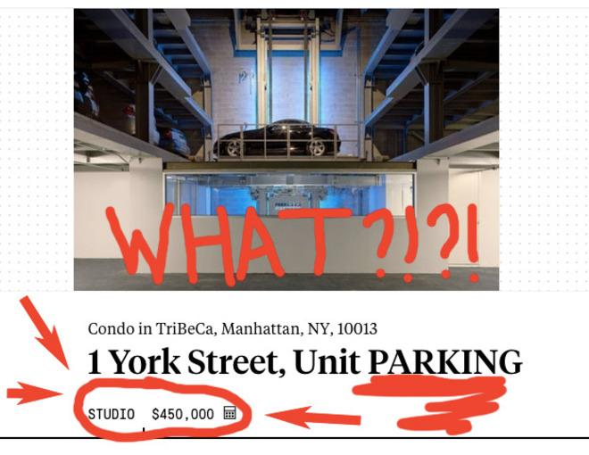 Lifestyles of the Rich and Richer: 5 Homes You Can Buy Instead Of This $450K NYC Parking Spot