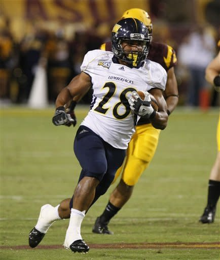 Arizona State overwhelms Northern Arizona 63-6