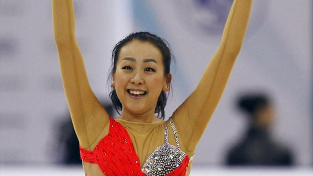Mao Asada of Japan (Reuters)