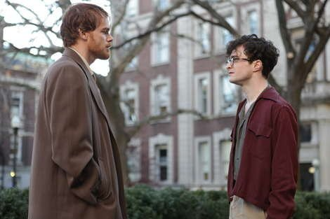 Dexter star Michael C Hall opposite Daniel Radcliffe in 'Kill your Darlings'