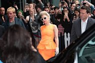 Lady Gaga. AFP