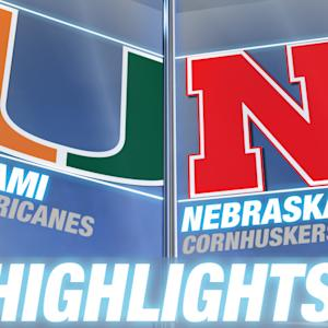 Miami vs. Nebraska | 2014 ACC Football Highlights