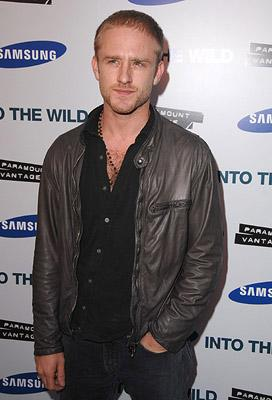 Ben Foster at the Los Angeles premiere of Paramount Vantage's Into the Wild