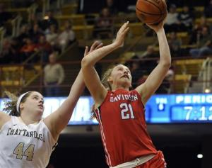 Chattanooga tops Davidson for SoCon title 65-64