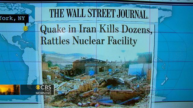 Headlines: Iran quake kills 35