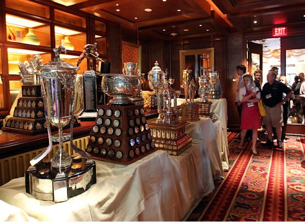 The NHL Hardware That Will Be Awarded Wednesday Evening Was Getty Images