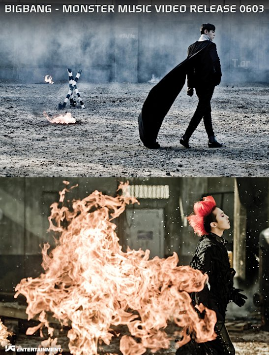 Teaser images of Big Bang's new album released
