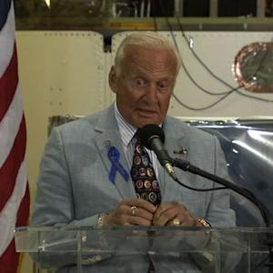 Buzz Aldrin recalls how he ended up on a mission to the moon