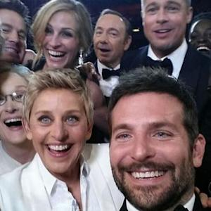 Ellen's Oscar selfie crashes Twitter, breaks record