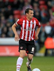 Sheffield United&#39;s Michael Doyle was not successful in his appeal over his sending off against Scunthorpe