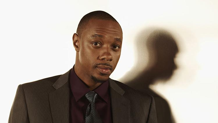"Dorian Missick as Marty in ""The Cape."""