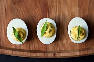 virginia willis&amp;#39; deviled eggs