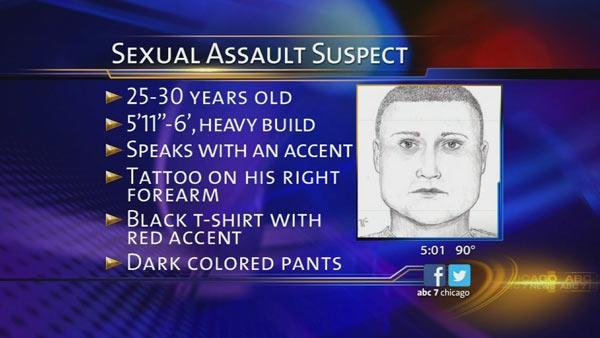 Police release sketch of West Rogers Park sexual assault suspect