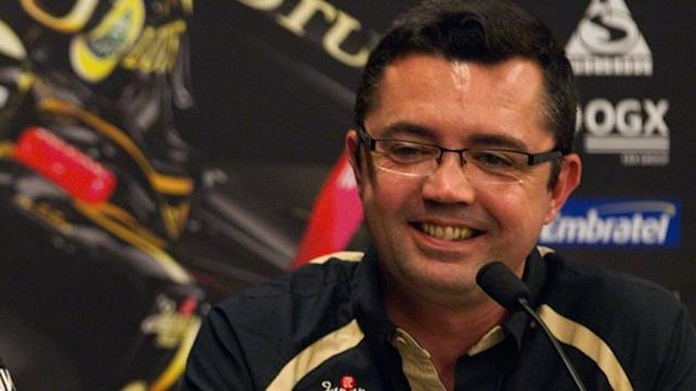 Lotus team boss Eric Boullier (Reuters)