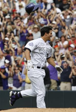 Arenado has winning hit in 9th, Rockies top Giants