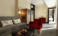 A suite at the Five Hotel & Spa