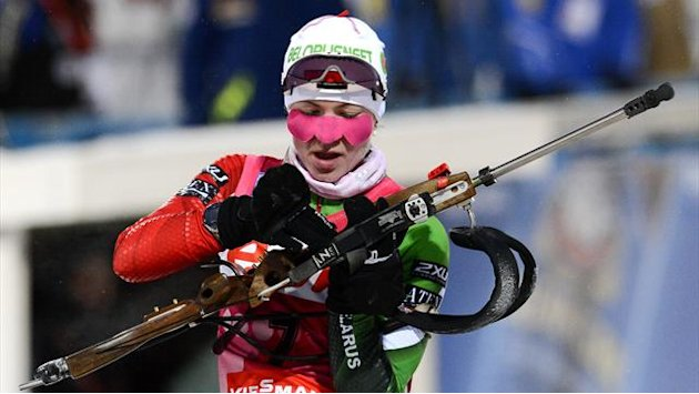 Biathlon - Domracheva wins 7.5km sprint in Hochfilzen