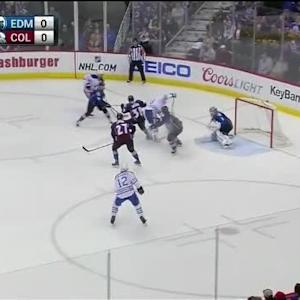 Semyon Varlamov Save on Luke Gazdic (02:14/1st)