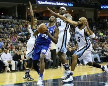 Grizzlies hand 76ers 18th straight loss of season
