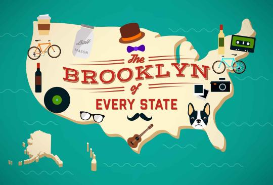 Where the Hipsters Are: the Brooklyn of Every State