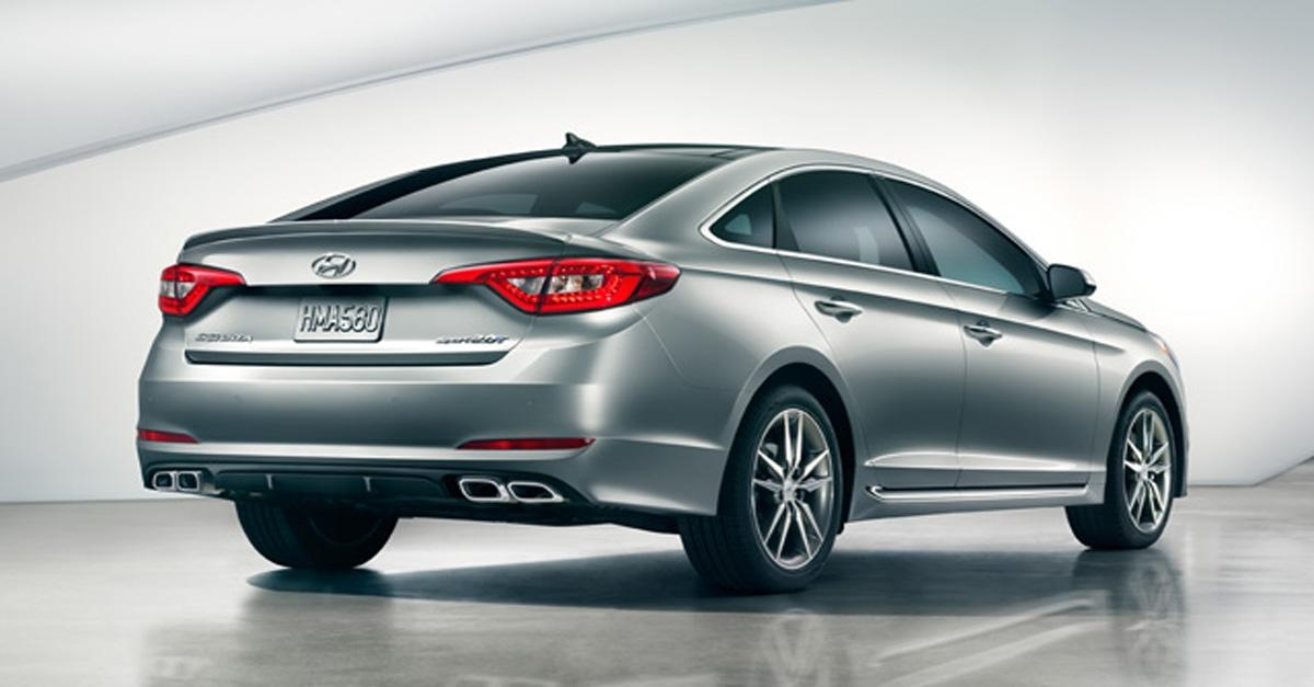 The New 2015 Sonata®: A Step Above the Competition