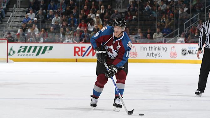 Joe Sakic of the Colorado Avalanche