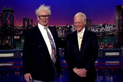 Will Ferrell crashed 'Letterman' in character as Harry Caray