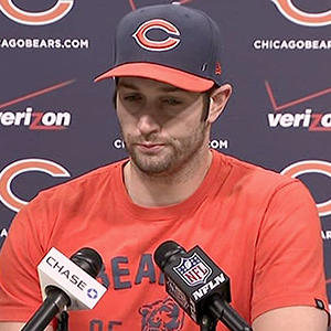 Bears QB Cutler: 'Didn't See' Benching Coming