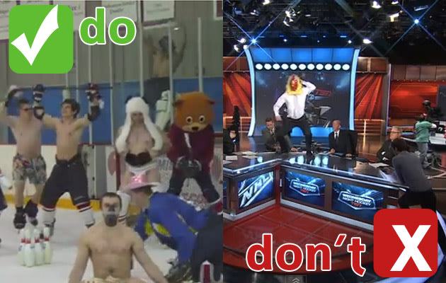 Harlem Shake And Hockey: Puck Daddy's Do's And Don'ts For This Delightfully Idiotic Meme