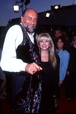 Mick Fleetwood and Stevie Nicks at the Westwood premiere of Twister