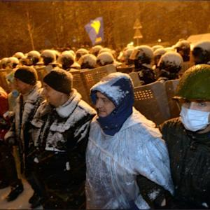 Ukraine Opposition: Riot Police Stormed Our Office