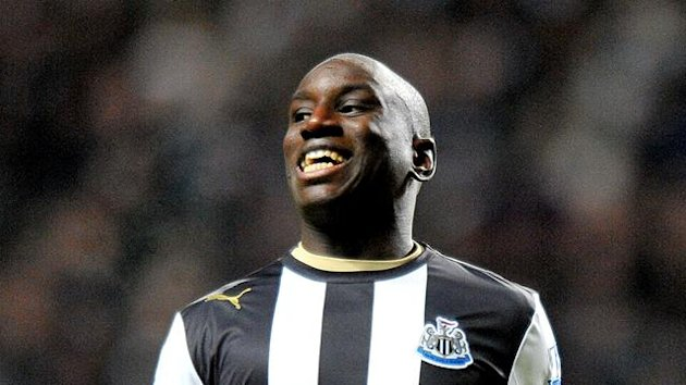 FOOTBALL Newcastle United striker Demba Ba