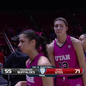 Recap: Utah women's basketball powers past Colorado