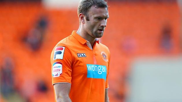 Ian Evatt broke down on his return to training following a knee injury