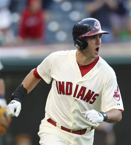 Indians' 2-run ninth tops Tigers 7-6