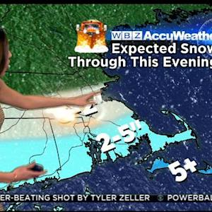 WBZ AccuWeather Morning Forecast For March 5