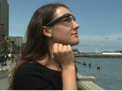 New App Sees the World Through Google Glasses