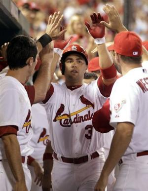 Beltran powers Cardinals to 12-3 rout of Pirates