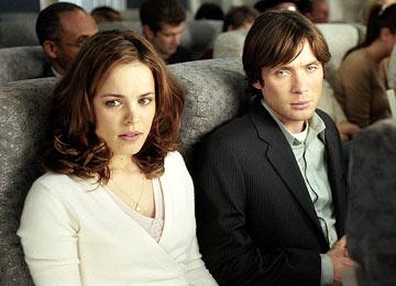 Rachel McAdams and Cillian Murphy in Dreamworks' Red Eye