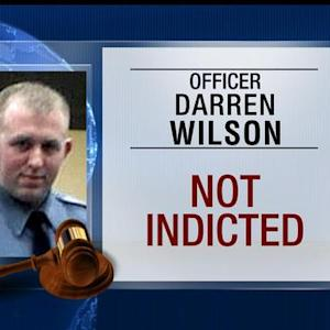 No indictment for officer in killing of Michael Brown