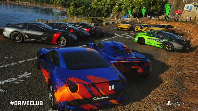 """""""DriveClub"""" players are encouraged to team up for bigger challenges and rewards"""