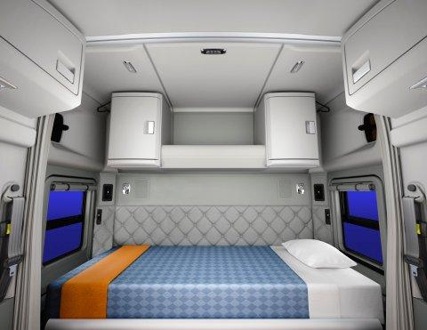 Kenworth Launches 52-Inch Mid-Roof Sleeper for Kenworth T680