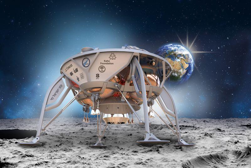 Israel could send the first privately-funded mission to the Moon on a Falcon 9 rocket