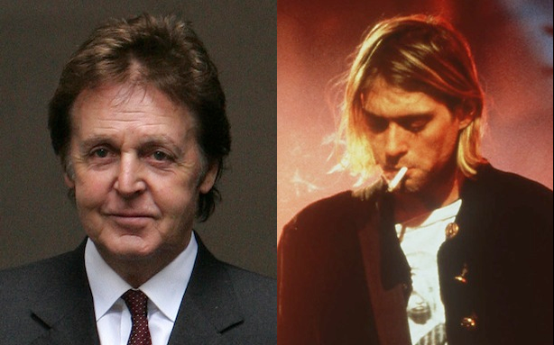 Smells Like an Overblown Story: Paul McCartney Hasn't Replaced Kurt Cobain