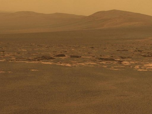 The surface of Mars, the 'Red Planet' Photo_1329150295352-2-0
