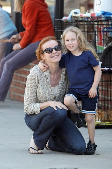 Marcia Cross - Daughter Savannah